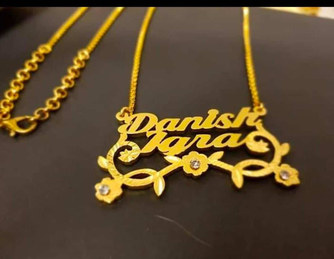 Gold Plated Necklace AS-104