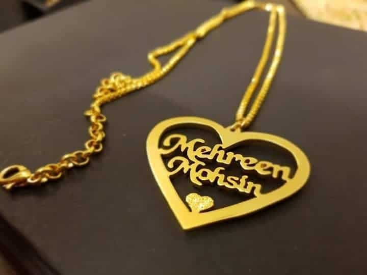 Gold Plated Necklace AS-112