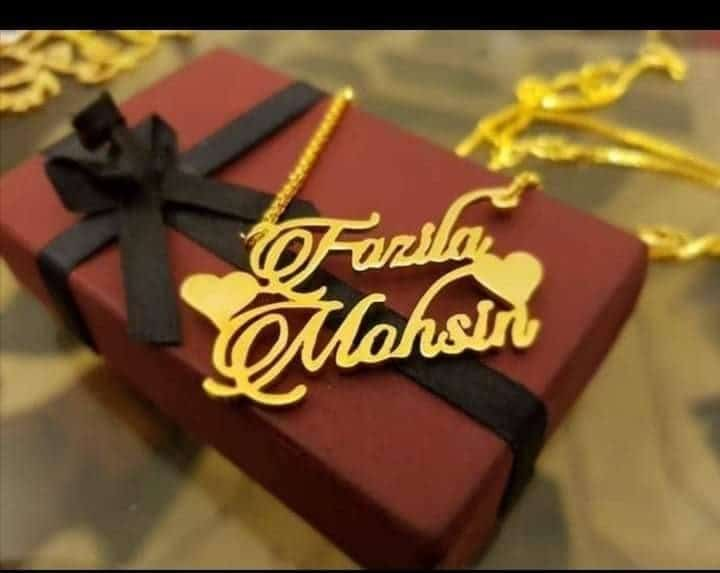 Gold Plated Necklace AS-117