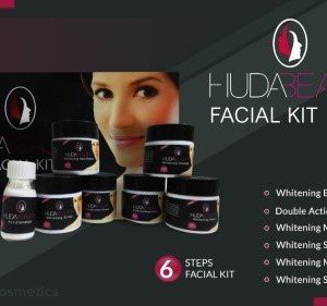 HUDA BEAUTY PACK OF 6 WHITENING FACIAL KIT