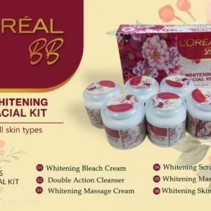 L'OREAL PARIS BB WHITENING FACIAL KIT