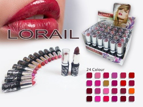 L'OREAL PARIS PACK OF 24 MATTE LIPSTICK PIGMENTED