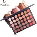 MISS ROSE 35 COLORS GLITTER MATTE AND SHIMMER EYE SHADOW PALETTE
