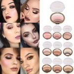 MISS ROSE PACK OF 12 RAINBOW WAVES HIGHLIGHTER POWDER