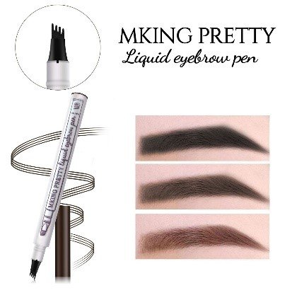 PACK OF 3 MKING PRETTY LIQUID EYEBROW PEN