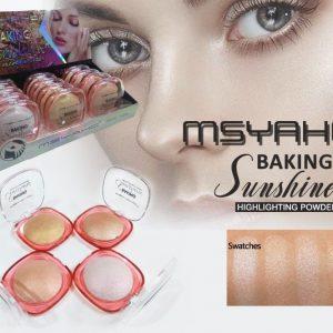 PACK OF 4 MSYAHO BAKING SUNSHINE HIGHLIGHT POWDER