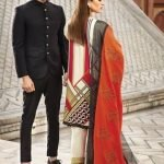 Rang Rasiya Printed with Embroidered Cotelle Linen Unstitched 3 Piece Suit RR 05