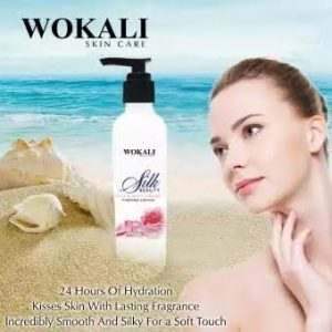 SKIN CARE SOOTHING SILK LOTION WOKALI