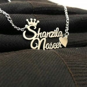 Silver Plated Necklace AS-105