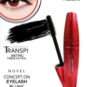 TRANSPI ANTING THICK NATURAL NOVEL CONCEPT ON EYELASH BLUHY MASCARA