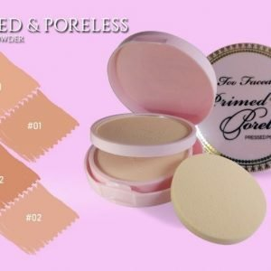 Too Faced PRIMED & PORELESS PRESSED POWDER TWIN CAKE