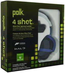Xbox One Polk Audio 4 Shot Headset Black