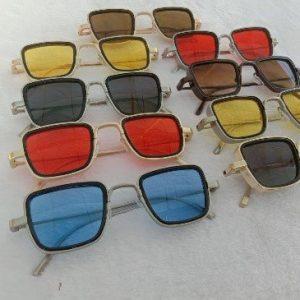 Kabir Singh glasses Men Square Frame Cool Sun Shades Brand Design for Male AS-516