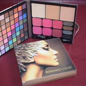 ROMANTIC COLOR MAKEUP BOOKLET MAKEUP PALETTE