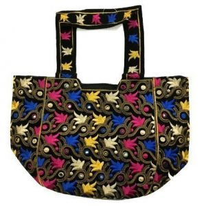 Colorful embroidered bag for women AS-548
