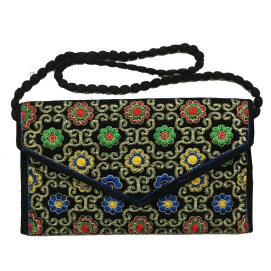 Colourful Embroidered Ladies & Women bag AS-555