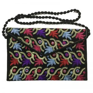 Colourful Embroidered Ladies & Women bag AS-556