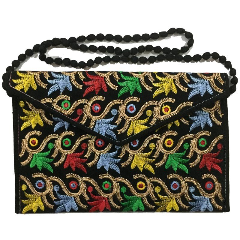 Colourful Embroidered Ladies & Women bag AS-559