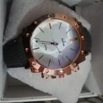 rado jubile Male Watch Round Dial Leather Strap AS-673