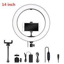 36cm LED Selfie Ring Light Camera Phone-1