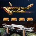 HOCK PUBG PREMIUM QUALITY TRANSPARENT QUICK SHOOTING GAME CONTROLLER ASSIST GAMING ACCESSORY KIT-2