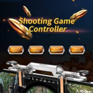 HOCK PUBG PREMIUM QUALITY TRANSPARENT QUICK SHOOTING GAME CONTROLLER ASSIST GAMING ACCESSORY KIT-2