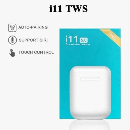 I11TWS Touch Wireless Earphones Bluetooth Earbuds Stereo Headset Headphone-3