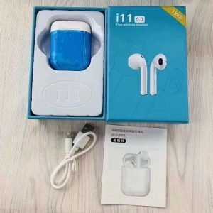 I11TWS Touch Wireless Earphones Bluetooth Earbuds Stereo Headset Headphone