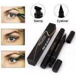 MISS ROSE Makeup Liquid Eyeliner Pencil Waterproof Black Color With Stamp-1