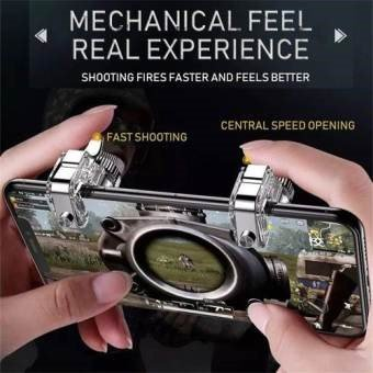 PUBG Fortnite Cod Mobile Gaming R11 Triggers Controller Shooter Game Controller Trigger for all android and ios mobile phones