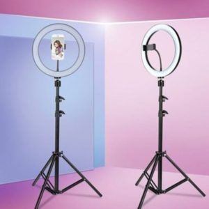 26cm led selfie ring light camera phone photography video makeup lamp / tiktok selfie light / ring light / just led light