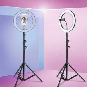 26cm led selfie ring light camera phone photography video makeup lamp / tiktok selfie light / ring light / just led light