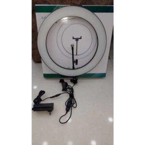 36cm led selfie ring light camera phone photography video makeup lamp / tiktok selfie light / ring light / just led light