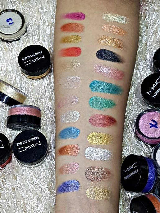 Mac Fashion Colors 24 Pack In Single Shimmer