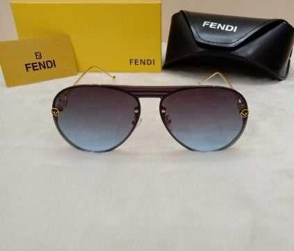 Fendi unisex real designer sunglasses AS-525
