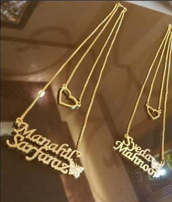 Gold Plated Necklace AS-111