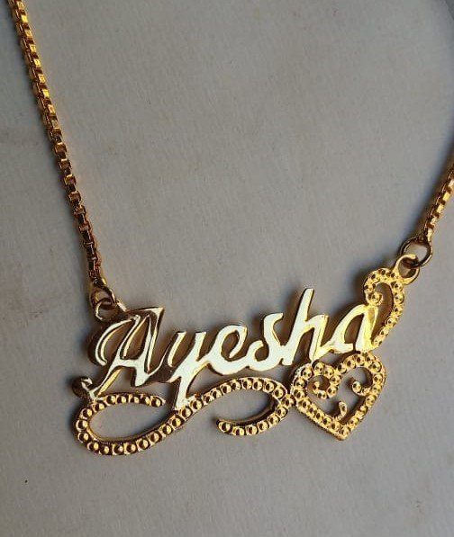 Gold Plated Necklace AS-114