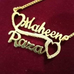 Gold Plated Necklace AS-119