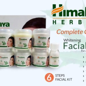 Himalaya herbals pack of 6 whitening facial kit