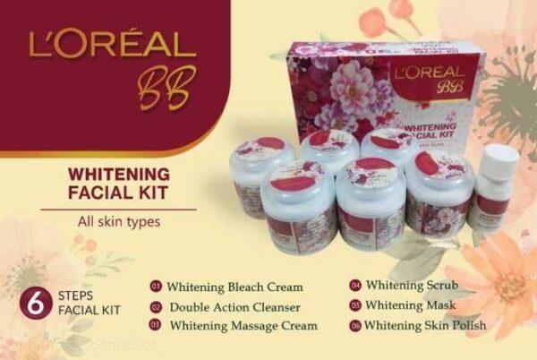 Loreal paris bb whitening facial kit