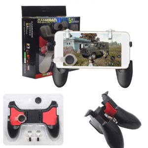 MOBILE PHONE GAME PAD JOYSTICK CONTROLLER L1 R1 FIRE SHOOTER BUTTONS TRIGGER HANDLE FOR PUBG FOR IPHONE ANDROID