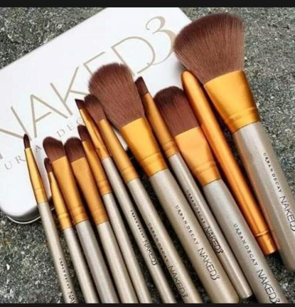 NAKED3 MAKEUP BRUSH TEEN BODY 12 IN 1