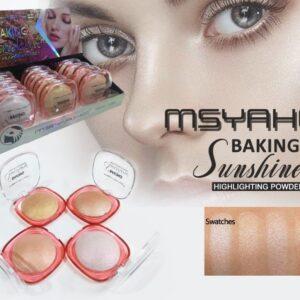 PACK OF 4 MSYAHO BAKING SUNSHINE HIGHLIGHT POWDER