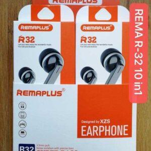 REMAPLUS R32 EARPHONES