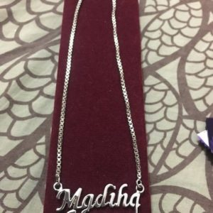 Silver Plated Necklace AS-102