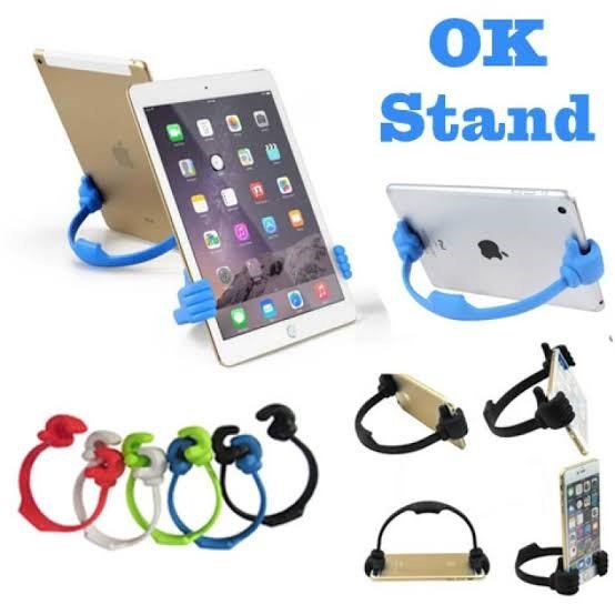 Universal OK Stand Thumb Design Mobile Stand Pack of 3