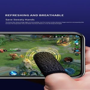 2PCS Mobile Game Controller Finger Sleeve Sets Anti-Sweat
