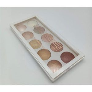 MSYAHO Baked Highlighter 3D Color 10 in 1
