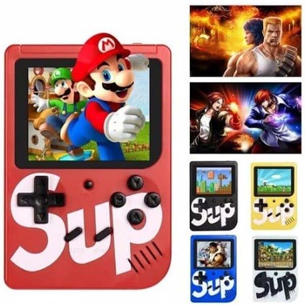 Sup x game box 400 games in 1 console with controller & tv connection
