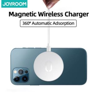Joyroom 15W Ultra-thin Magnetic Wireless Charger For iPhone 12 Pro Max Charger Fast Charging Pad For Samsung Xiaomi Quick Wireless Charge